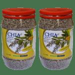 זרעי צ'יה לבן עשירים באומגה 3