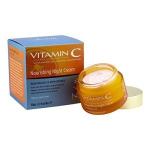 קרם לילה מועשר עם ויטמין C
