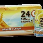 אבקה עם ויטמין C בטעם תפוזים