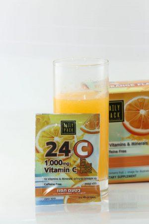 אבקה 24 ויטמין C